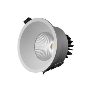 Designlight P-196MW Downlight 11W, hvit, 3000 K