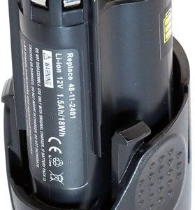 Milwaukee C12 MT-402B, 12V, 1500 mAh