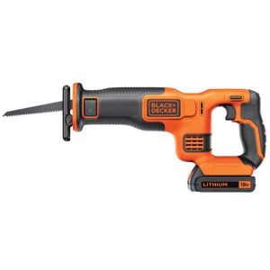 Black & Decker BDCR18-QW Tigersag med batteri og lader